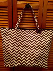 chevron bag 2