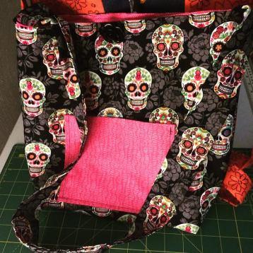 sugar skulls bag