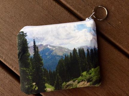 mountain coin purse